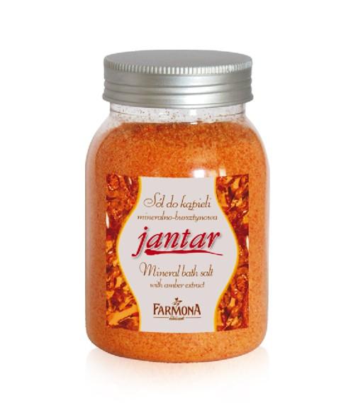 Jantar, Bursztynowa sól do kąpieli, Farmona