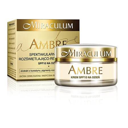 Amber, Krem rewitalizująco-rozświetląjący, Miraculum