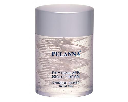 Krem na noc z nanokoloidami srebra, Pulanna