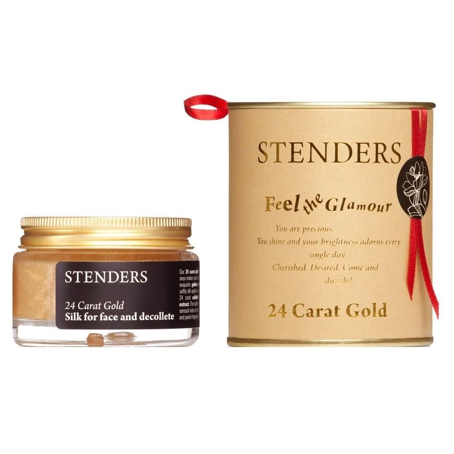 Krem do twarzy, Jedwam z 24-karatowym złotem, Stenders