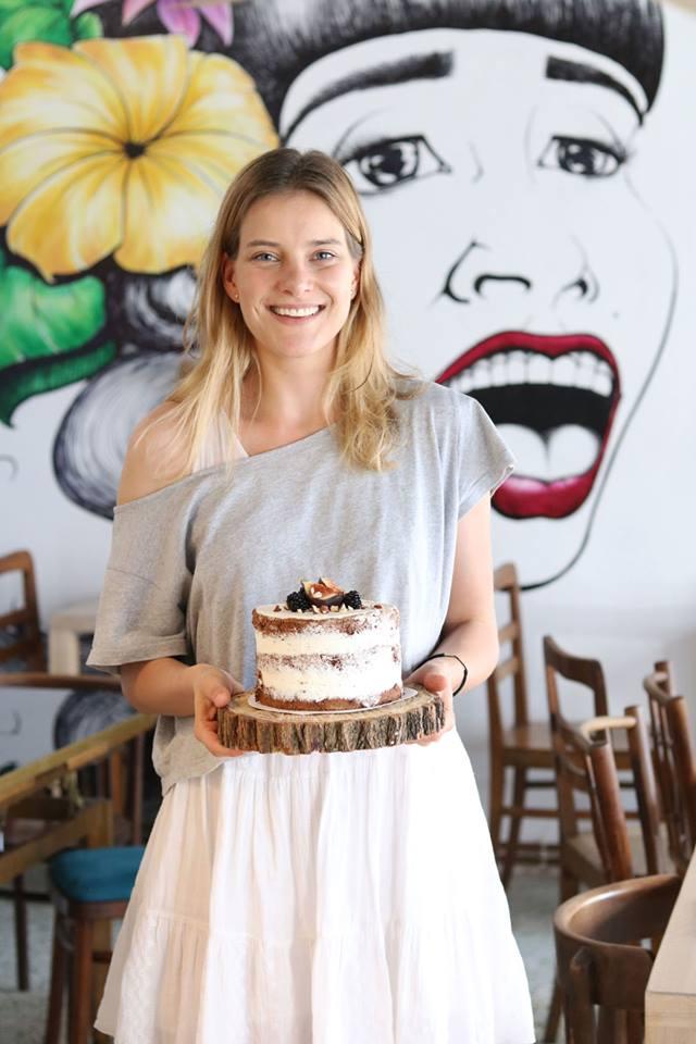 Ania Berezowska w Cremino Bakery, fot. Justyna Adamus