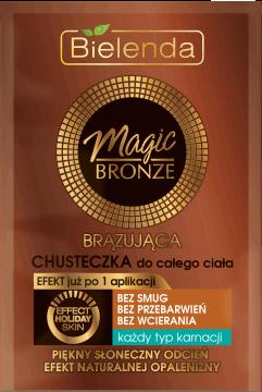 Chusteczka brązująca Magic Bronze, Bielenda