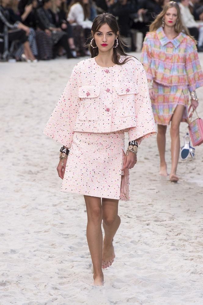 Chanel wiosna-lato 2019, vogue.com