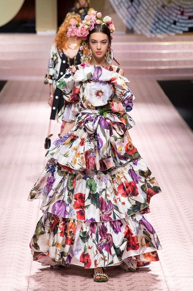 Dolce&Gabbana wiosna-lato 2019, vogue.com