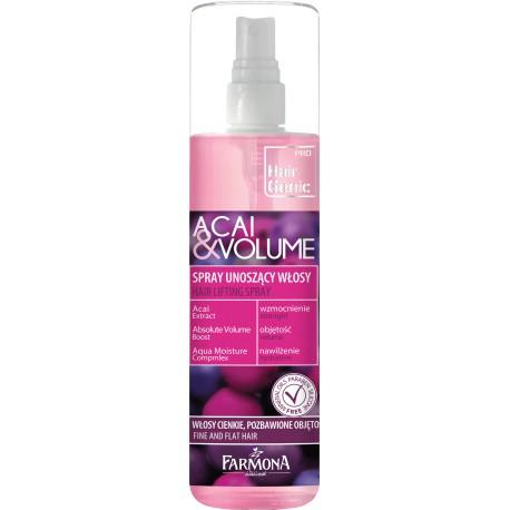 HAIR GENIC Spray unoszący włosy u nasady Acai & Volume 200ml