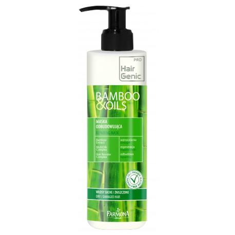 HairGenic bamboo & oils Maska odbudowująca 300 ml