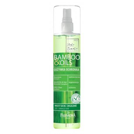 HairGenic bamboo & oils Odżywka ochronna 200 ml