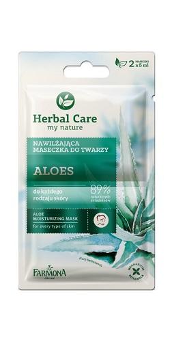 Herbal Care Maseczka nawilżająca ALOES