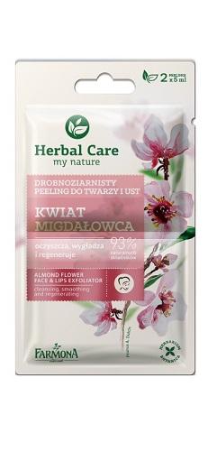 Herbal Care Peeling Drobnoziarnisty KWIAT MIGDAŁOWCA