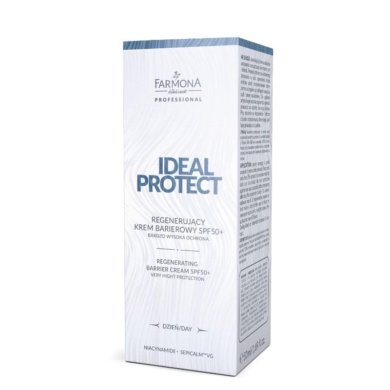 IDEAL PROTECT Regenerujący krem barierowy SPF50+ 50ml