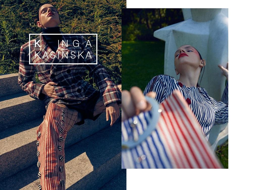 KINGA KASIŃSKA ''STILL LIFE'' Campaign by Daniel Jaroszek | danieljaroszek.com Model: Lila Poter | Mango Models MUA&Hair: Katarzyna Biały | Bialy Make-up