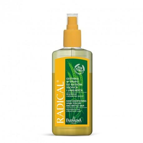 RADICAL Odżywka w sprayu do włosów suchych i łamliwych 200ml