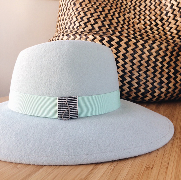 Jolie Su, Krysia Summer Pistachio Hat