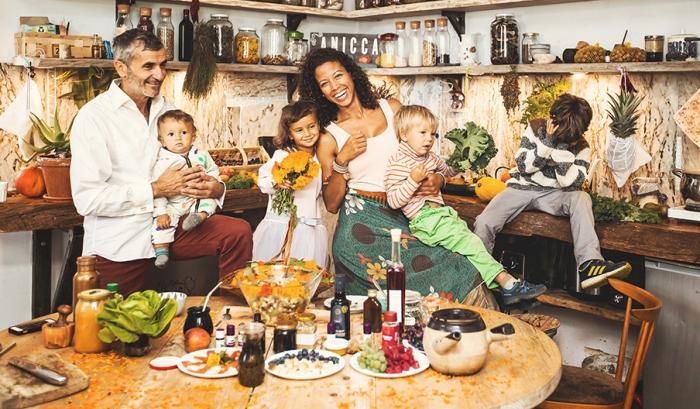 Davina Reeves z dziećmi